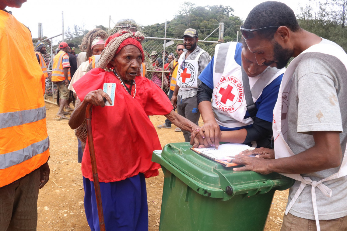 Papua New Guinea: World Red Cross and Red Crescent Day 2021