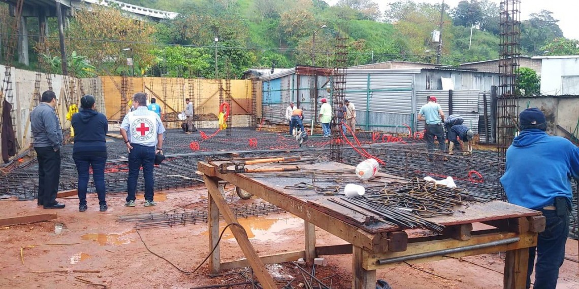 Construcción del albergue en Coatzacoalcos para personas migrantes, refugiadas y solicitantes de asilo