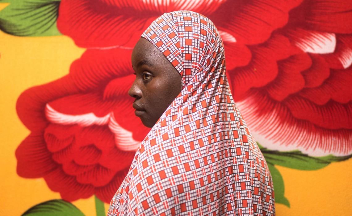 عائشة 17 عامًا، مايدوغوري، نجيريا.
