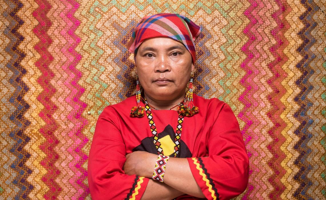يوفيميا كولامات، 57 عامًا، مينداناو، الفلبين.