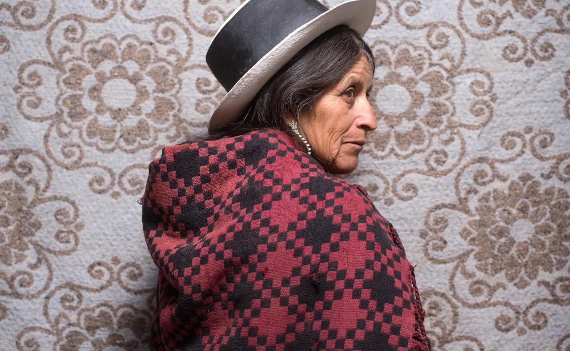 ديونيسيا كالديرون، 54 عامًا، أياكوتشو، بيرو.