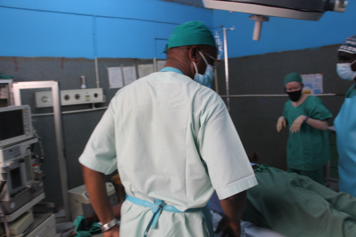 Mada Hospital, the only one for miles around whose surgeons can perform war surgery. Alex Lock/ICRC