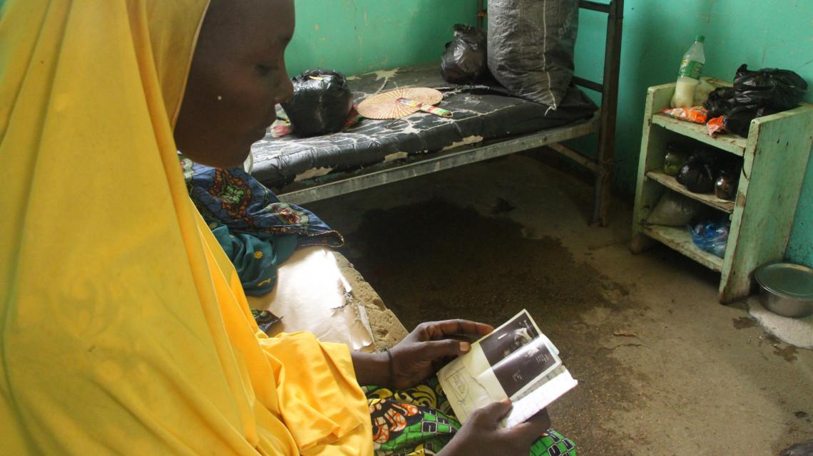 Woulmé est venue du Tchad voisin pour recevoir des soins.