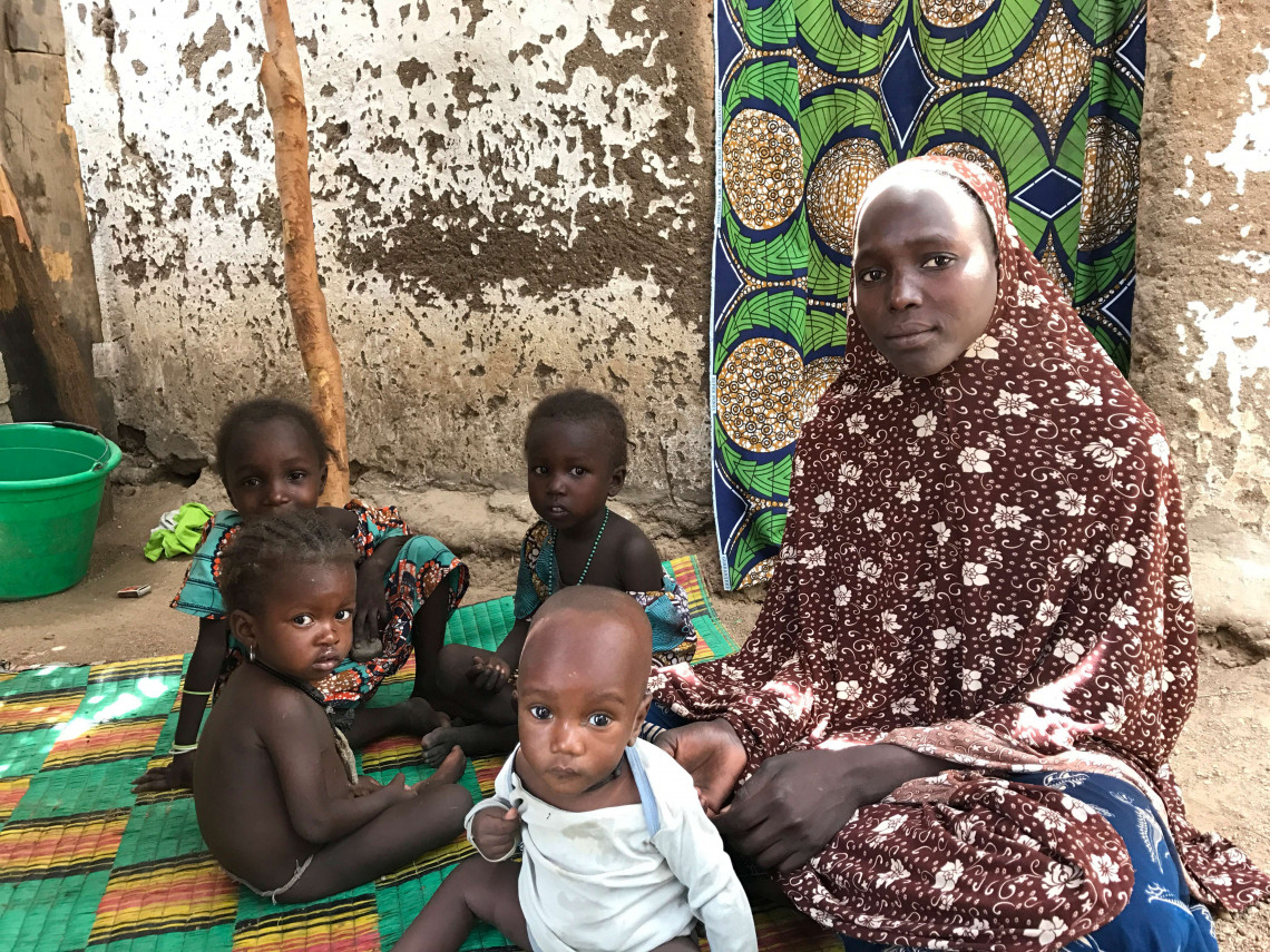 Since 2014, many families have been displaced in the Far North region of Cameroon.
