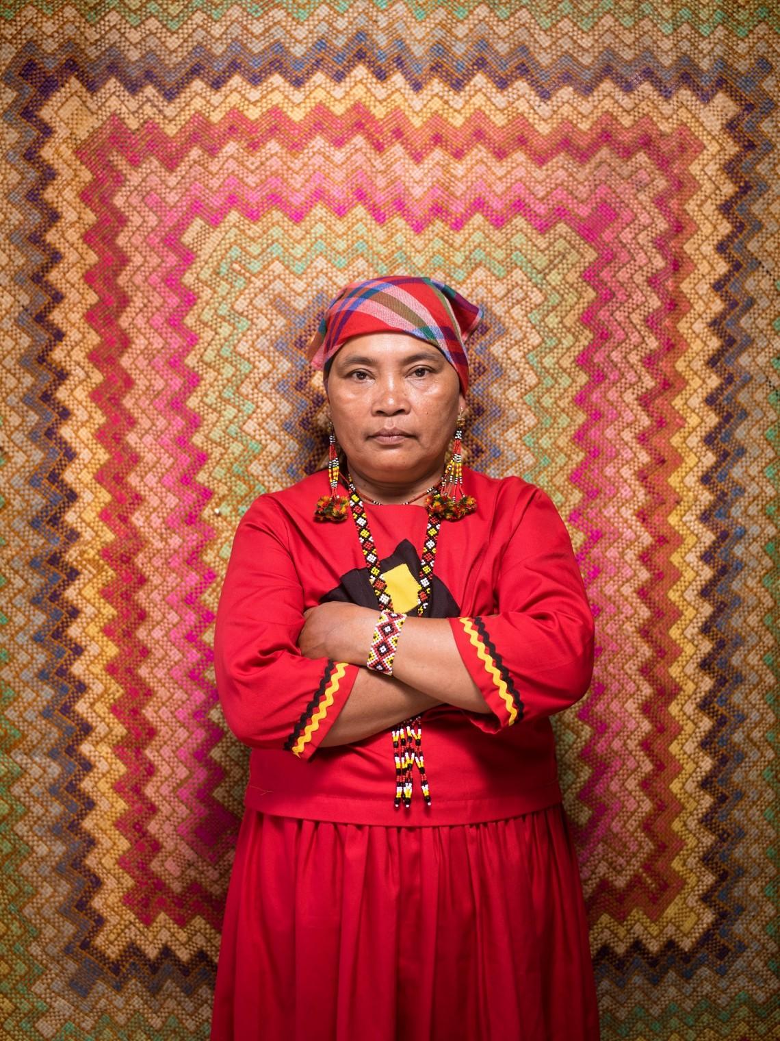 Eufemia Cullamat, 57 ans, Mindanao, Philippines.