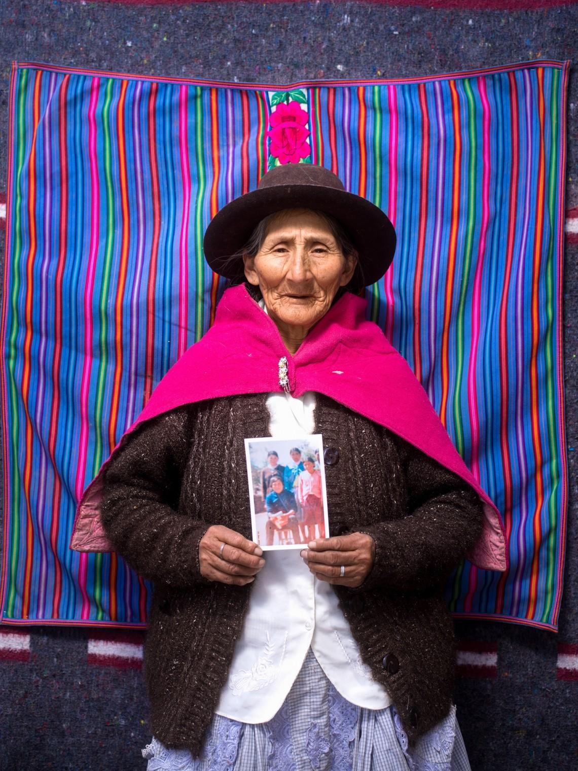 Victoria Prado Rodriguez, 65 ans, Pérou.