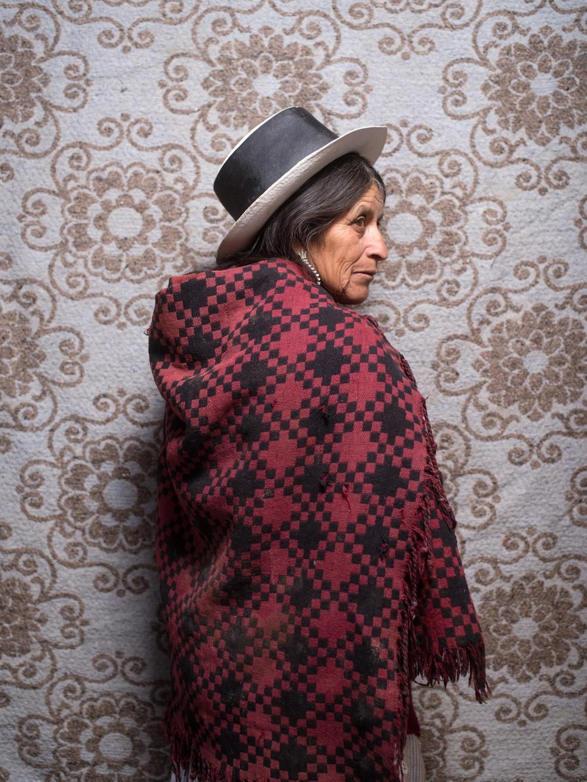 迪奥尼西娅·卡尔德龙(Dionisia Calderon),54岁,秘鲁,阿亚库乔