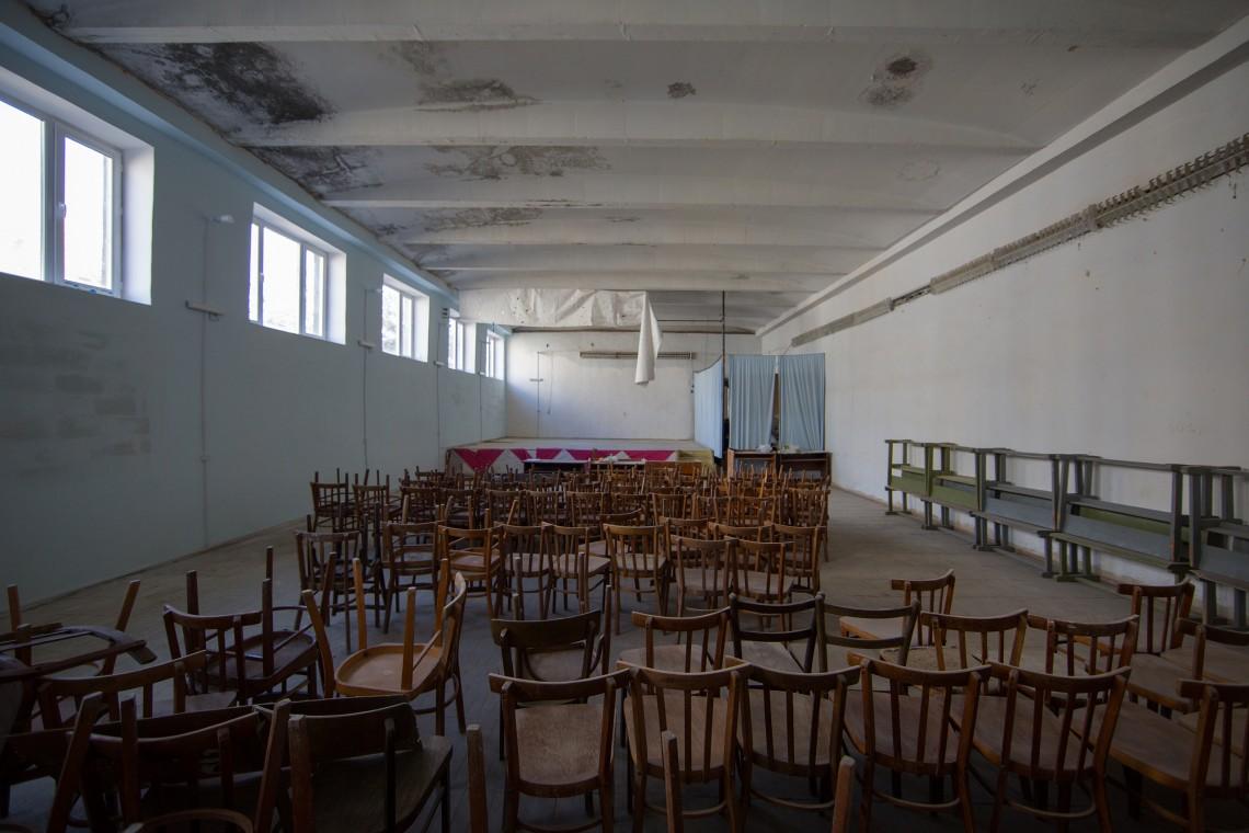 La salle de cérémonie de l'école de Khndzorut. CC BY-NC-ND / CICR / Areg Balayan