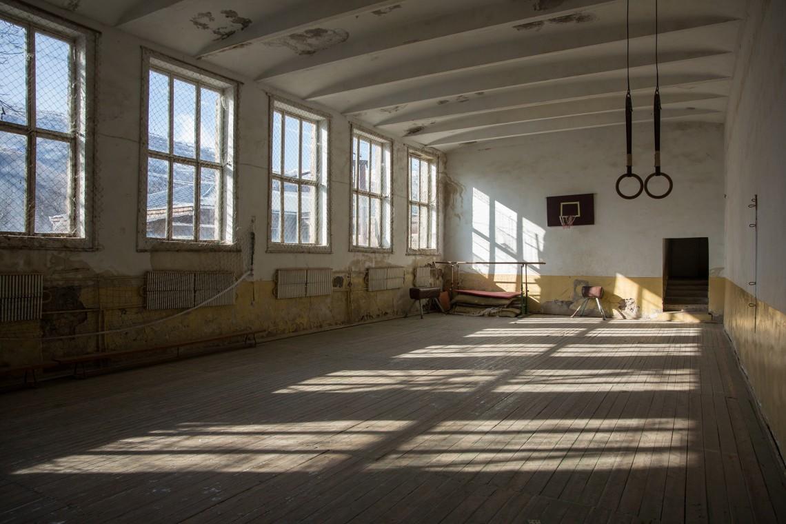 La salle de sport de l'école de Khndzorut. CC BY-NC-ND / CICR / Areg Balayan