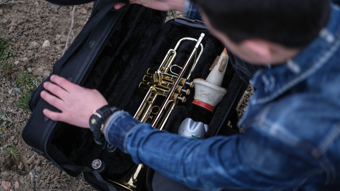 Vahagn's precious trumpet, his anchor through turbulent times.