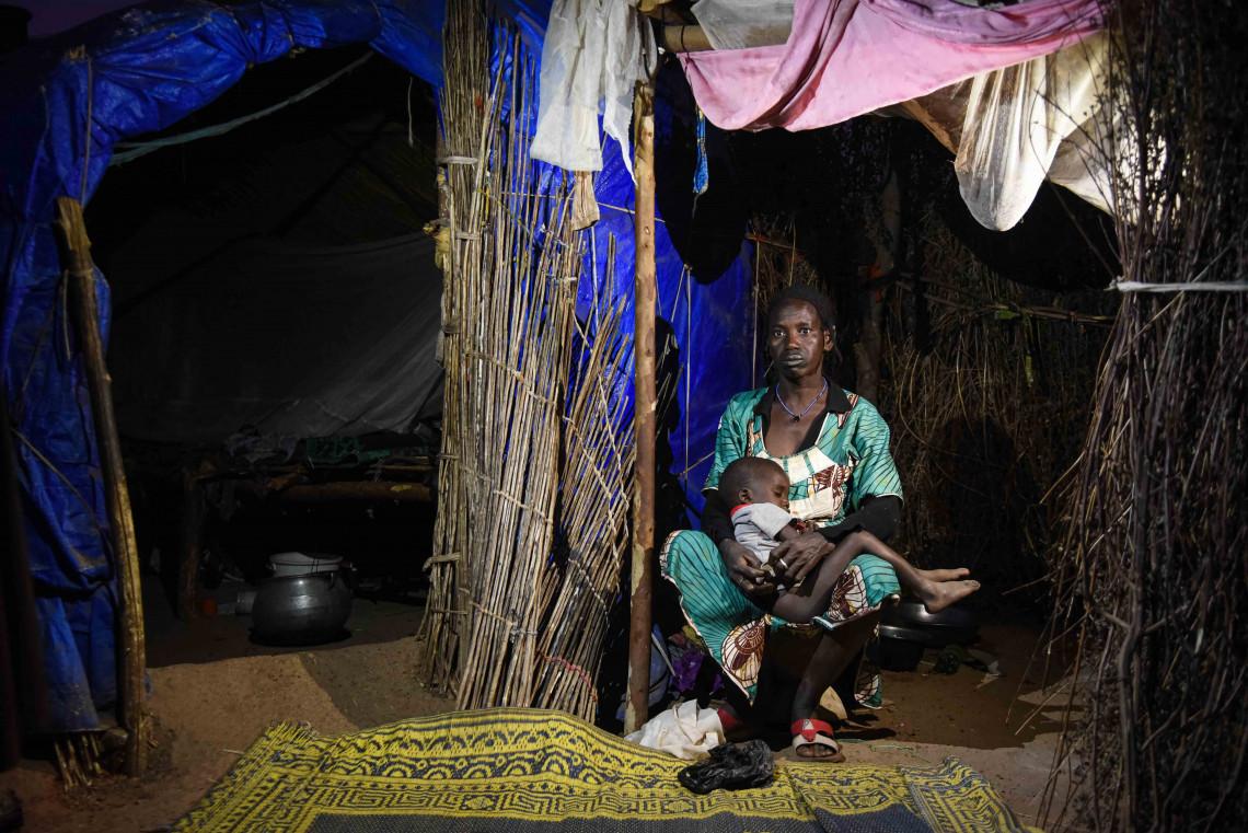 Aïssata Hamadoun Barry fait partie des milliers de déplacés internes au Mali.