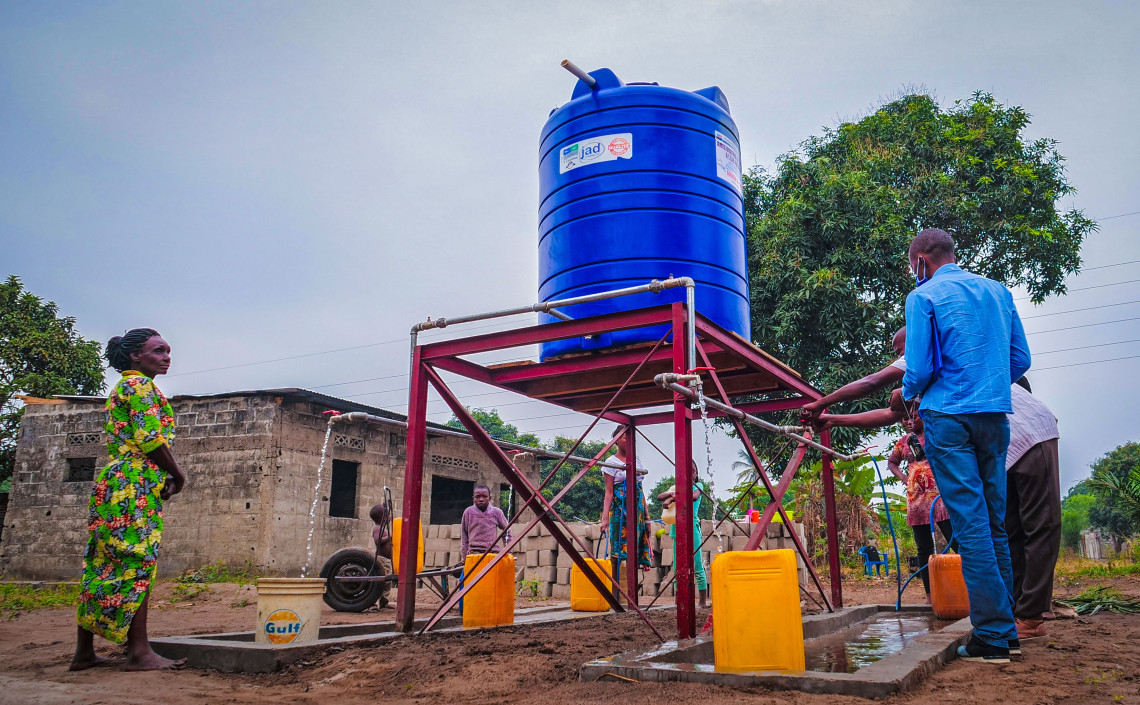 We've had several water points in eastern Kinshasa repaired and refurbished. Jonathan BUSASI/ICRC