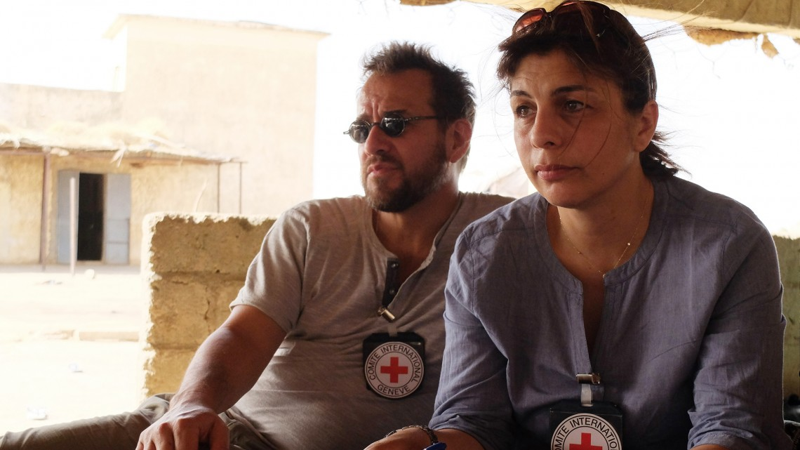 Two ICRC staff – forensic anthropologist José-Pablo and tracing specialist Joyce – work together to try to bring the families answers.