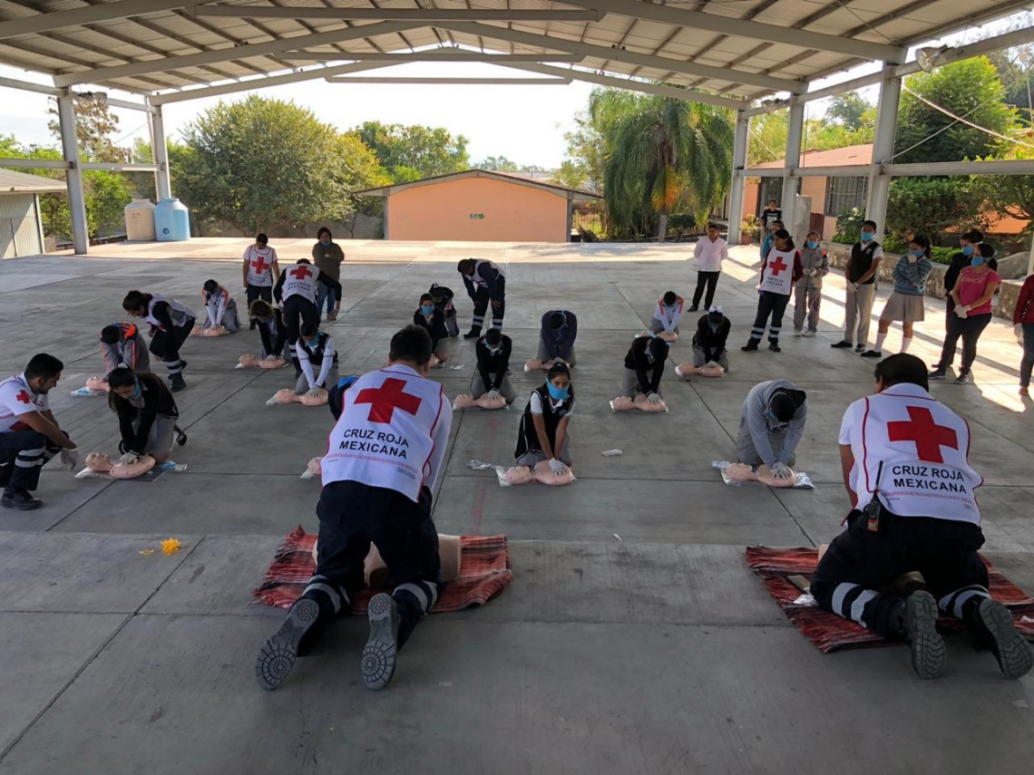 Mexican Red Cross Society: beneficiary of the Empress Shôken Fund in 2019. © Mexican Red Cross Society