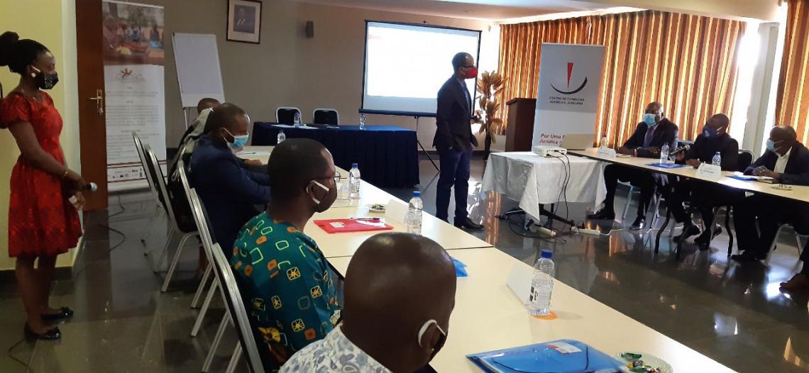 A promoção do Direito Internacional Humanitário faz parte da nossa resposta humanitária em Moçambique.