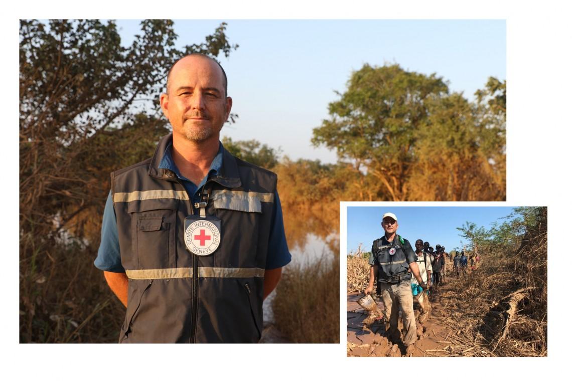 Especialista forense do CICV, Stephen Fonseca. Fotos: Khatija Nxedlana