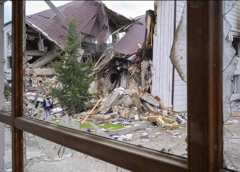 L'escalade du conflit a provoqué des dégâts considérables - ©CICR