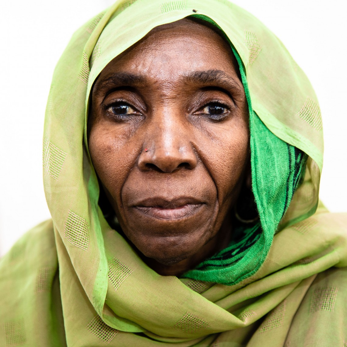 Famata Hassan. A tradition birth attendant in Maiduguri. Photo: Alyona Synenko/ICRC