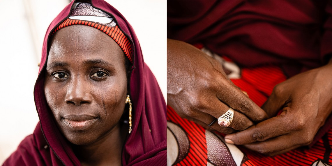 Falmata, a tradition birth attendant in Maiduguri. Photo: Alyona Synenko/ICRC