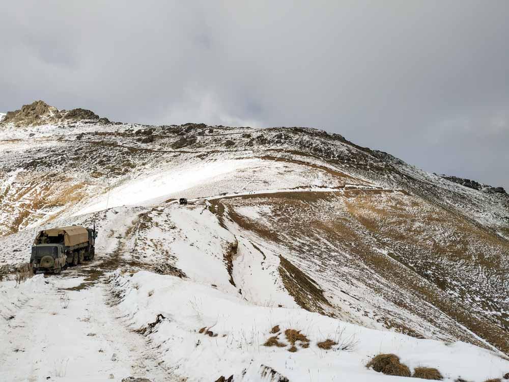 Des conditions difficiles dans la région montagneuse du nord – ©CICR