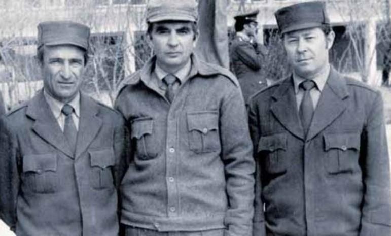 Полковник Николай Гладышев (в центре), Афганистан 1984 г. Фото из личного архива