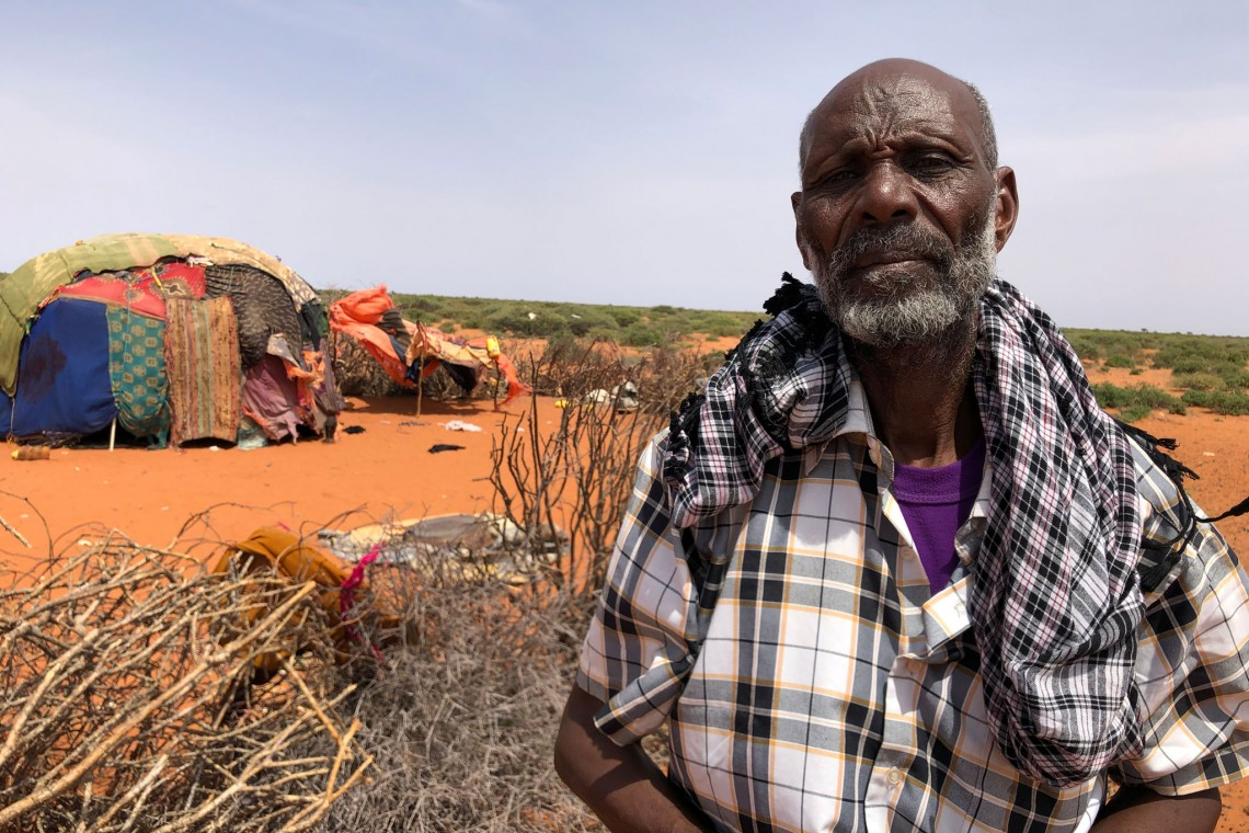 Sowdhe Ali is one of the pastoralist living in Galgaduud region who have lost nearly all his livestock due to the recurring droughts in Somalia.