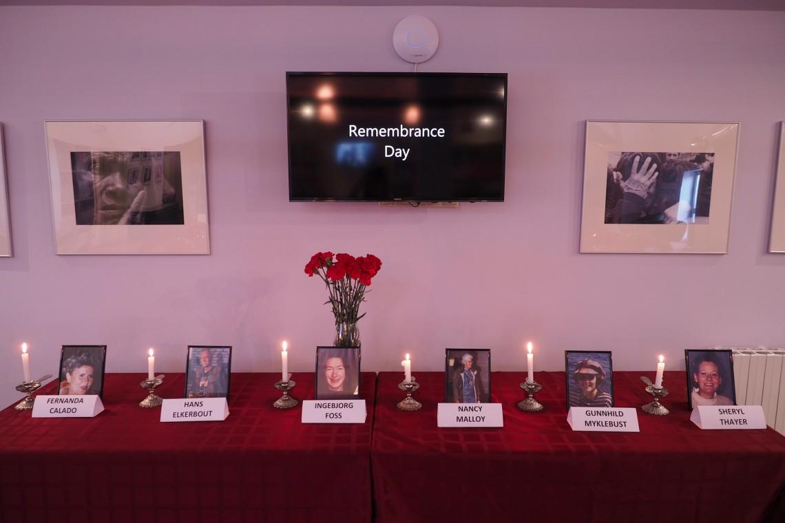Каждый год сотрудники МККК собираются, чтобы почтить память убитых коллег.