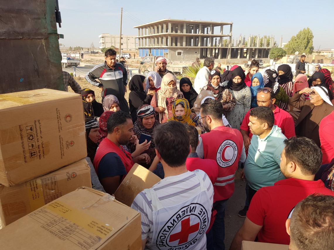 为叙利亚危机捐款