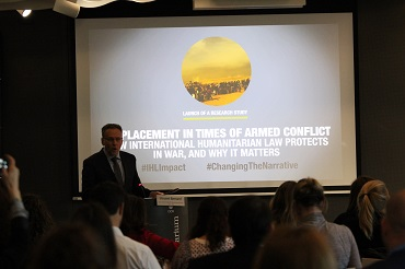 Displacement in times of armed conflict: How international humanitarian law protects in war and why it matters