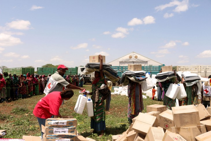 Ethiopia: Red Cross distributes emergency aid to 35,000