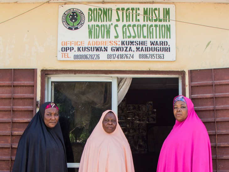 Maiduguri, Nigeria. The ICRC began working with the Borno State Widows Association in 2013.