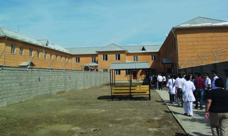 The new TB hospital in Penal Institution 31.
