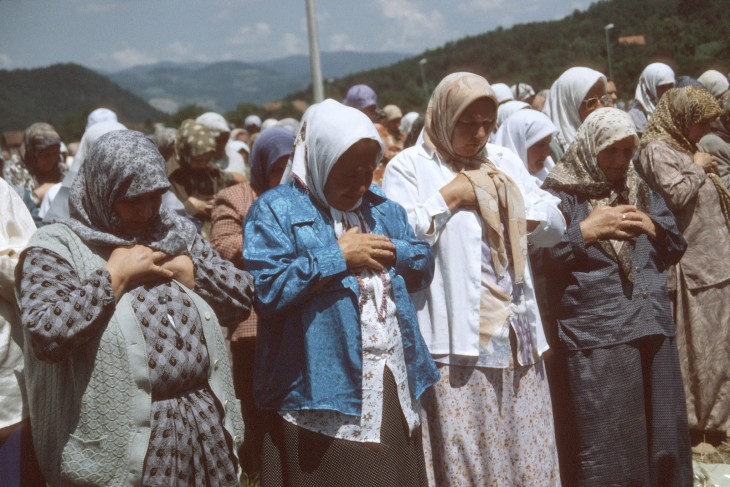 Commemoration of the sixth anniversary of the Srebrenica massacre.