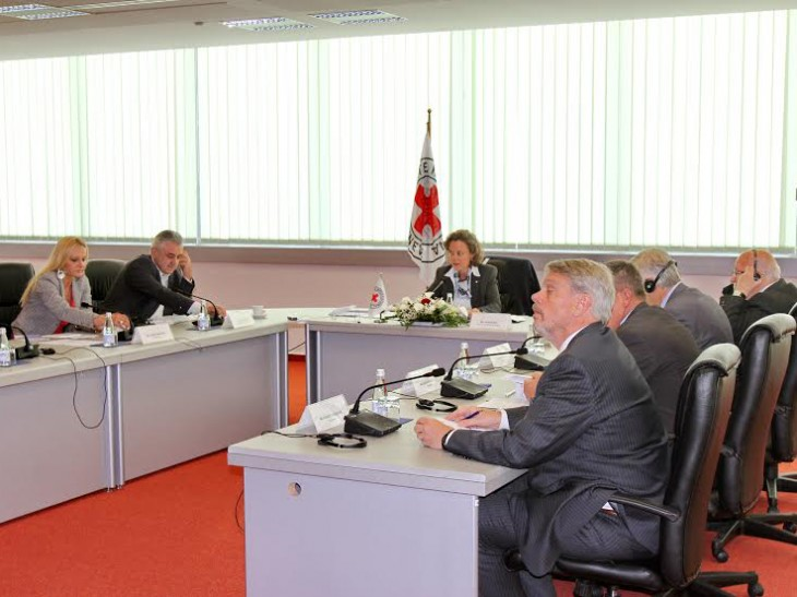 Meeting of the working group.