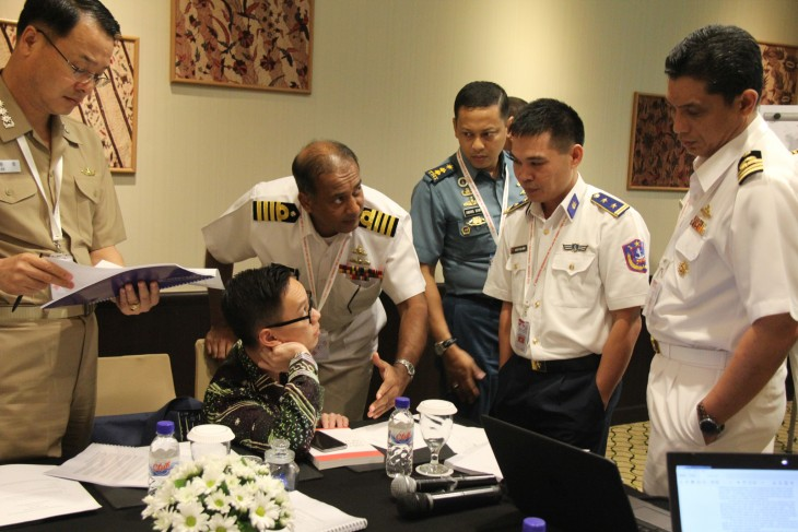 The five-day workshop was an opportunity for navies from South-East Asia to share ideas and discuss cooperation.